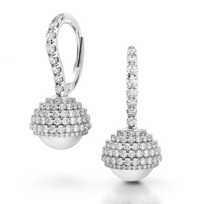 Limited Edition Pearl Diamond Earrings
